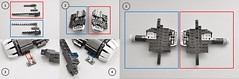 T-70 X wing Instructions (Lower Enignes) (Inthert) Tags: lego moc star wars t70 ship instructions resistance x wing bb8 poe force awakens