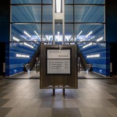 U-Bahn Station Uberseequartier02 (p.schmal) Tags: olympuspenepl7 hamburg hafencity berseequartier ubahn