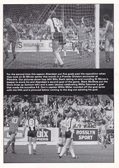 Aberdeen vs St Johnstone - 1983 - Page 7 (The Sky Strikers) Tags: road cup st magazine official scottish aberdeen don to hampden league johnstone the matchday pittodrie 40p