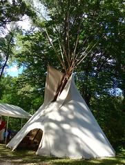 Tipi, also Tepee or Teepee, Macy, NE (ali eminov) Tags: macy nebraska celebrations harvestcelebration powwow shelter tipi