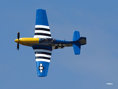 160417_07_NSB_Obsession (AgentADQ) Tags: new smyrna beach florida skyfest airshow air show airplane plane aerobatic north american p51d mustang warbird obsession
