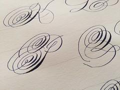 IMG_4521 (xelo garrigs) Tags: caligrafa calligrafia calligraphy pointedpen spencerian penmanship ornamentalscript