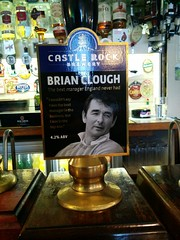 Castle Rock - Brian Clough (DarloRich2009) Tags: castlerockbrewery castlerock clough brianclough brewery beer ale camra campaignforrealale realale bitter hand pull
