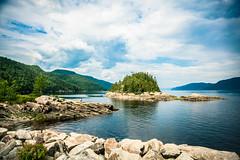 Fjord du Saguenay 2 (Duda Arraes) Tags: qubec canada petitsaguenay parc national du fjorddusaguenay water river bluesky clouds nature landscape