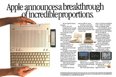 1984 Apple IIc ad (Tom Simpson) Tags: apple appleii appleiic computer computing 1984 1980s vintage ad ads advertising advertisement floppydisc games vintagead vintageads applecomputer