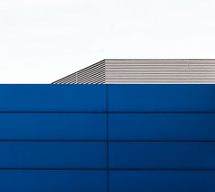 architecture minimal (Lunor 61) Tags: abstract abstrakt minimal minimalismus minimalistic minimalistisch urban architecture architektur building facade fassade graphic lines linien blue blau grey grau