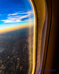 #IFlyAlaska Despite Dirty Q400 Window for the Sunrise (AvgeekJoe) Tags: iflyalaska aerialphotograph d5300 dslr mountsainthelens mtsthelens nikon nikond5300 sunrise aerial aerialphoto aerialphotography dirtywindow fromthewindow throughglass throughthewindow volcano