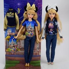 Shanghai Disney Resort Grand Opening vs Disneyland 60th Anniversary 12 Inch Dolls - Side By Side - Full Front View (drj1828) Tags: us disneyland purchase 2015 12inch posable disneyparks shanghaidisneyresort 2016 china