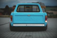 VW CADDY MK1 (JAYJOE.MEDIA) Tags: vw caddy mk1 volkswagen low lower lowered lowlife stance stanced bagged airride static slammed