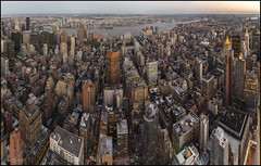 East Manhattan (JuandeCT) Tags: estadosunidos us nuevayork sunset atardecer light nightlight night empire state