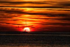 Tramonto - sunset (pinomangione) Tags: pinomangione paesaggio tropea landscape calabria sunset tramonto mare sea