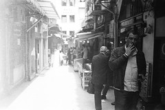 * (jubalharshaw) Tags: street photography istanbul turkey efke 25 leica m2 zeiss planar 50mm f2 rodinal home develop scan
