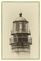Petit Manan Lighthouse (brian-caldwell.artistwebsites.com) Tags: lighthouse sepia fineartphoto shore maine barharbor ocean island lighthouses newengland northeast