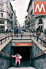 M come Milano (pinomangione) Tags: pinomangione street milano perstrada metro architettura allaperto