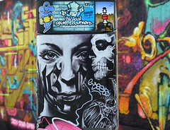 graffiti (wojofoto) Tags: graffiti wojofoto wolfgangjosten antwerpen belgie belgium stickers stickerart