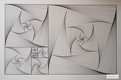 20160425 (regolo54) Tags: regolo54 string art geometry geometricart symmetry symmetryart symmetrybuff circle disk triangle mandala sacredgeometry escher mcescher fibonacci
