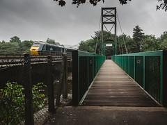 Green Dart Crossing (78XX Manor) Tags: class43 devon diesel hst locomotive passengertrain totnes