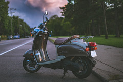 Yamaha Vino (michaelraleigh) Tags: 50mm f18 sunset serene minneapolis outdoors beautiful canoneos5dmarkii canon minnehaha minnesota