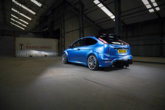 Ford Focus RS mk2 (Aron Vickers Photography) Tags: 2016 april aronvickers blue fastford ford maidstone rs focus harveygibbs azure