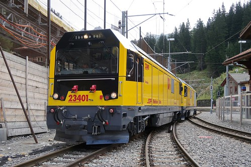 RhB Gmf 4/4 - Diesel-Electric Locomotive