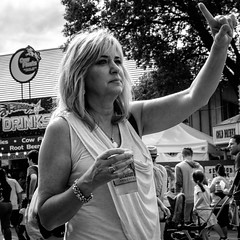 That Way (timbu) Tags: statefair mnstatefair minnesota minnesotastatefair 2016 mono
