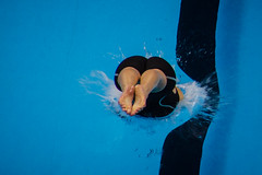 Dive Refraction (Richard Parmiter) Tags: rio2016 swiming olympicgames diving
