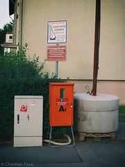 Baustromversorgung (Christian Passi - Steher82) Tags: street baustelle strom unplugged privatgelnde feuerwehr elektro volt constructionarea