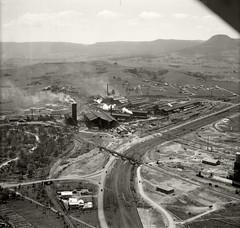 Australian Iron & Steel, Port Kembla - 26 Nov 1937 (Royal Australian Historical Society) Tags: rahs royalaustralianhistoricalsociety aerialphotography adastra 1937 australianironsteel