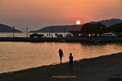 Yialova Lagoon  Sunset   DSC2114 (Chris Maroulakis) Tags: peloponnese pylos yialova lagoon sunset sea nikon d7000 chris maroulakis 2016
