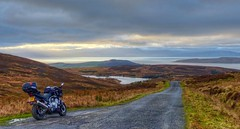 The Clyde and Islands from Fairlie Moor (velton) Tags: scotland scottish yamaha arran 1000 fazer kintyre ayrshire cumbrae ayrshirecoast fzs1000 fzs1