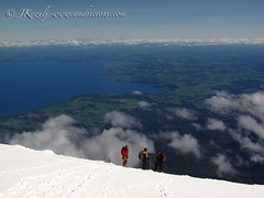 Summit of Volcan Osorno