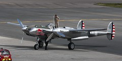 P38 Lightning N-25Y IMG_0910 (Ronnierob) Tags: lockheed redbull shetland p38lightning sumburghairport n25y