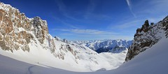 Panorama 12 (leivischem [federleicht]) Tags: winter mountain ski berg schweiz switzerland adventure sent svizzera engadin alpin randonee piz schi graubünden grisons skitouren svizra abenteuer unterengadin touren grigione engiadina alpinismus vadret skibergsteigen skialpinismo