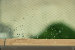 72 / 365. (zamax4) Tags: patagonia storm window water argentina rain ventana drops lluvia agua bokeh drop gotas tormenta gota