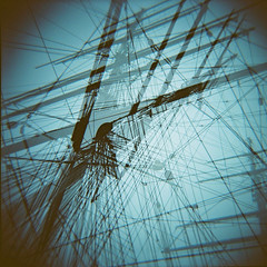 Cutty Sark, Greenwich (nick richards art) Tags: colour london 120 thames boats lomo lomography ship location 120film diana cuttysark analogue dianaf rigging analoguephotography