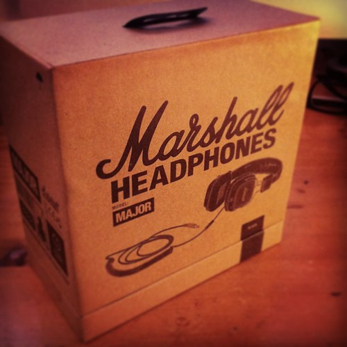 Finally! :) Marshall Headphones Major