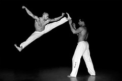 tae kwon do! (sneakyrabbits) Tags: uk light portrait bw motion black london monochrome sport athletic jump nikon do martial kick flash arts taekwondo stop gb whit dslr tae kwon strobe 2013 removedfromstrobistpool nooffcameraflash seerule1