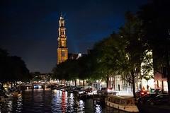Westerkerk Church, Amsterdam (CLF345) Tags: amsterdam canal europe prinsengracht prinsengrachtcanal westerkerkchurch