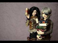 books (Vlastelin Nichego) Tags: dolls mirage bjd abjd celine valet floy dollzone