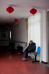 Nursing homeChangshu Jiangsu China (Eason Q) Tags: china portrait people white horizontal closeup hospital photography bed chair sitting suzhou adult knithat oneperson nursinghome individuality senioradult casualclothing jiangsuprovince onewomanonly lookingatcamera agingprocess threequarterlength hospitalward focusonforeground onlywomen healthcareandmedicine oneseniorwomanonly asianandindianethnicities adultsonlyblack