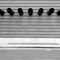 Art Is Art (Jeremy Brooks) Tags: sanfrancisco california blackandwhite bw usa wall museum architecture blackwhite sfmoma iphone sanfranciscomuseumofmodernart sanfranciscocounty hueless
