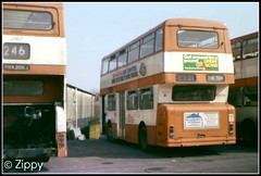 Awaiting Their Fate (Zippy's Revenge) Tags: bus order garage transport prototype stockport vehicle depot re standard daimler rochdale fleetline withdrawn charlesstreet gmpte mancunian greatermanchester pte selnec 2167 northerncounties ncme 6251 tnb758k pna206j