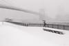 (Barry Yanowitz) Tags: nyc newyorkcity bridge blackandwhite bw snow ny newyork weather brooklyn blackwhite flickr bridges brooklynbridge blizzard nycity jeannouvel 718 brooklynbridgepark empirefultonferry janescarousel janewalentas mainstreetsection