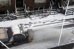 Amsterdam (mi chiel) Tags: winter snow holland netherlands amsterdam canal iamsterdam sneeuw thenetherlands machine ams 020 grachtengordel amstelkerk ambtenaar 2013 sneeuwschuiven iamsterdema