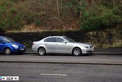 BMW 5series Glasgow 2013 (seifracing) Tags: uk mercedes europe britain glasgow taxi worldwide bmw audi vokswagen seifracing