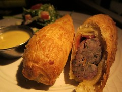 Sausage Roll, at The Dead Rabbit (Scoboco) Tags: financialdistrict gothamist deadrabbit fidi thedeadrabbit oldtimedowntownbar fidibars