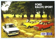 1977 Ford Escort Rallye Sports (UK) p1