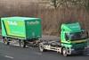 Tufnells DAF CF85 YN09 BJJ (truck_photos) Tags: truck lorry trailer daf daftrucks tuffnells dafcf85 drawbartrailer thebiggreenparcelmachine tuffnellsparcelsexpress yn09bjj