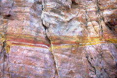 Sedimentary Strike (ken mccown) Tags: rock sandstone nevada erosion geomorphology valleyoffirestatepark whitedomes