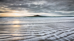 Rangitoto radiance (Luke Tscharke) Tags: morning newzealand sun motion reflection beach water sunrise geotagged volcano bright radiance auckland wash nz ripples difficult 169 takapuna rangitoto geo:lat=3678786715149785 geo:lon=1747756576538086
